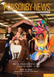 Ponsonby News February Cover 2019