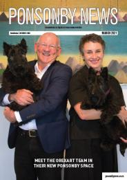 Ponsonby News March 2021 Cover