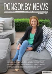 Ponsonby News November 2017 Cover